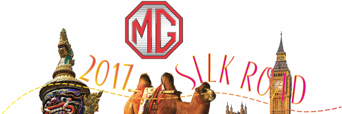MG's On The Silk Road